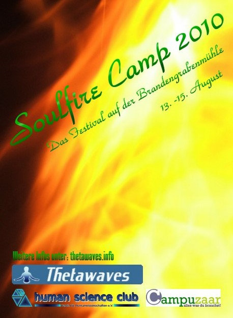 Soulfire Camp 2010 - Flyer