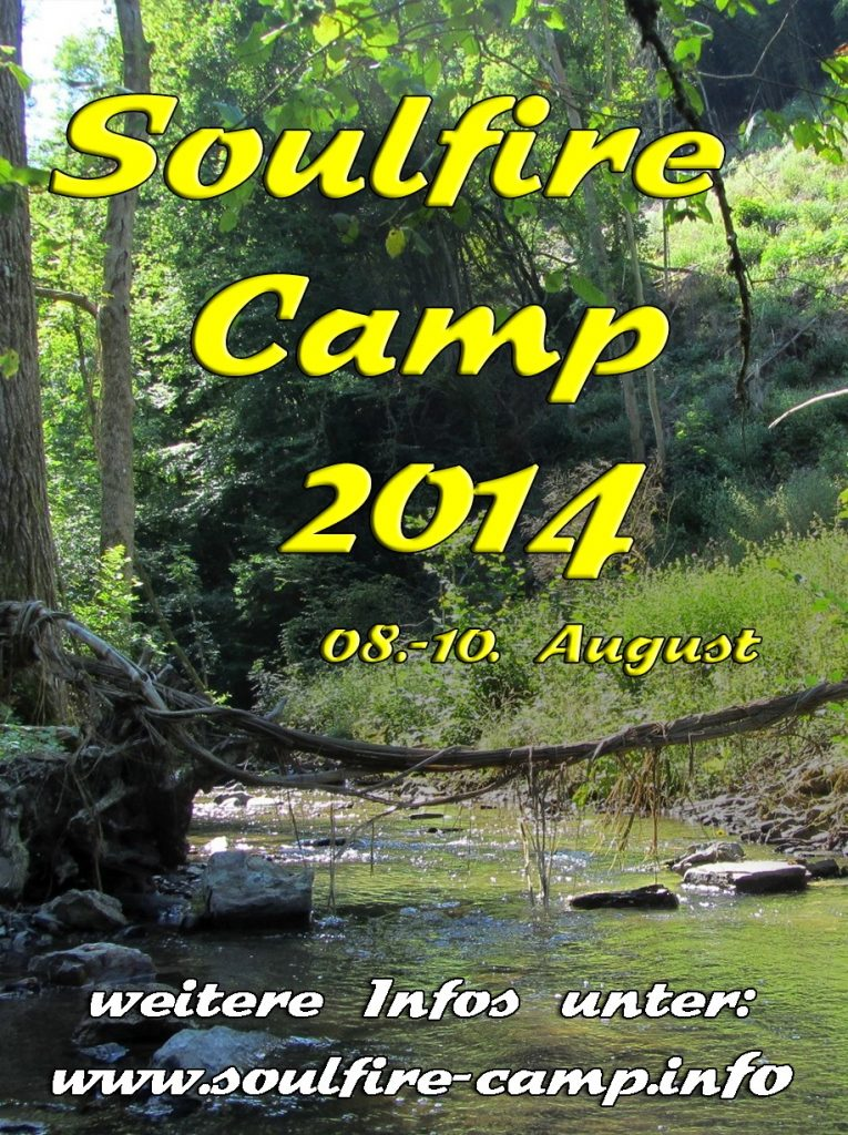 Soulfire Camp 2014 - Flyer
