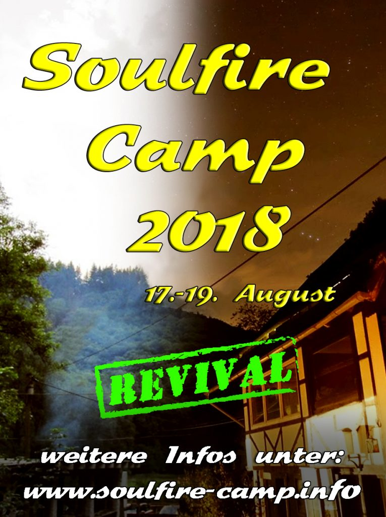 Soulfire Camp 2018 - Flyer